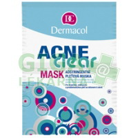 Dermacol Acneclear maska pro problematickou pleť 2x8g