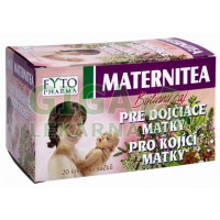 MATERNITEA Bylinný čaj pro kojící matky 20x1.5g