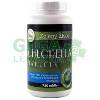 Zelený Život Chlorella 750 tablet