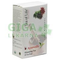 Ajurvédský Bio čaj na hubnutí Tea of life 25x2g