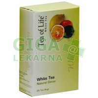 Tea of Life White tea Natural citrus 25x2g