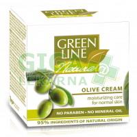 Green Line Natura Hydratační olivový krém 50ml