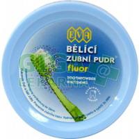 EVA Bělící zubní pudr fluor 3ks