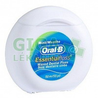Oral-B dentální nit EssentialFloss Mint Wax 50m