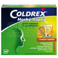 Coldrex Horký Nápoj Citron s medem 10 sáčků