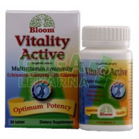 BLOOM Vitality Active Multivitamín s minerály 60 tablet