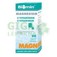 MAGNESIUM S VIT. B6 50 kapslí Biomin