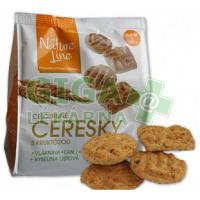 CERESKY celozrnné sušenky s fruktózou a lnem 180g