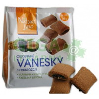 VANESKY celozrné sušenky se švestkami a fruktózou 200g