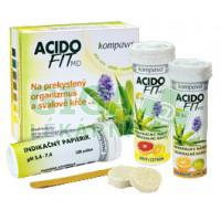 AcidoFit MD-MIX šumivé tablety 2x10 + indikační papírky 100ks