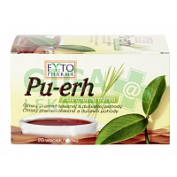 Pu-erh s citrónovou trávou 20x1.5g Fytopharma
