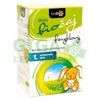 BABIO Dětský fenyklový čaj 20x1,5g BIO