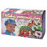 Dětský ovocný čaj lesní jahody 20x2g Fytopharma