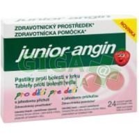 Junior-angin 24 pastilek