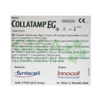 Collatamp EG 5x5x0.5 50mg Hemostatická houbička