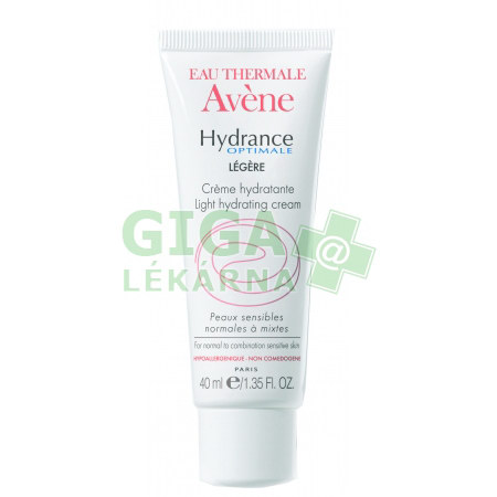 avene hydrance optimale legere 40ml gigal k. Black Bedroom Furniture Sets. Home Design Ideas