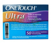 Testovací proužky One Touch Ultra Test Strips 50ks