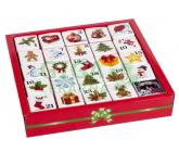 Čaje Advent.kalend.pyram.v kostkách 13 druhů 25ks