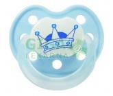 Obrázek BABY NOVA dudlík latex tvarovaný dekor + kroužek č.2