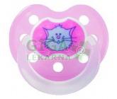 Obrázek BABY NOVA dudlík latex tvarovaný dekor + kroužek č.1