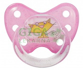 Obrázek BABY NOVA dudlík Dentistar velikost 2 kroužek se zoubky