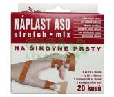 Obrázek Náplast ASO Stretch na šikovné prsty KRB MIX 20ks