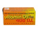Vitamín D3 400 I.U. tbl.90