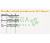Obrázek Avicenum anti-trombo punčochy stehenní M bílé