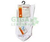 Avicenum DiaFit bavlněné ponožky 41-44 bílé
