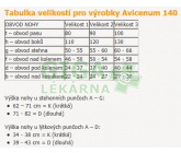 Obrázek Avicenum 140 punčochy M LONG (2D) černé