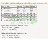 Obrázek Avicenum 140 podkolenky S LONG (1D) tělové