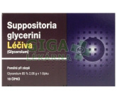 Suppositoria Glycerini supp.10x2.35g Léčiva