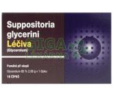 Suppositoria Glycerini supp.10x2.35g Léčiva