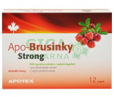 Obrázek APO-Brusinky Strong 500mg 12 kapslí