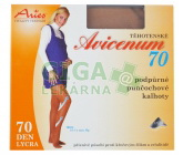 Avicenum70 punčocháče těhotenské 164-170/124-132 tělová