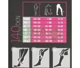 Obrázek Maxis New Relax 140 Den punčocháče XL světlá