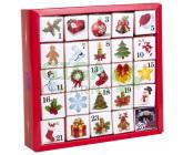 Obrázek Čaje pyramidky v kostkách 13 druhů 25ks Adventní kalendář