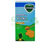 MedDex Vicks sirup med suchý kašel 1x120ml/160mg