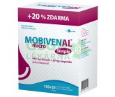 MOBIVENAL micro Simple tbl.100+20 zdarma