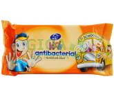 Obrázek UNI Kids ubrousky antibakteriální vlhčené 15ks