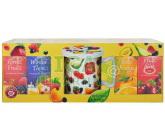 Obrázek TEEKANNE 4x ovocný čaj WOF + hrneček s pokličkou