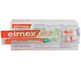 Obrázek Elmex Zubní pasta 2x75ml+kartáček
