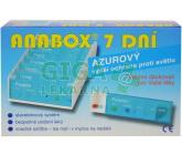 Dávkovač na léky ANABOX 7 dní Azurový