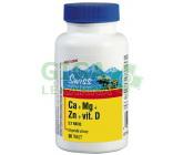 Swiss Citráty Ca+Mg+Zn+vit.D tbl.30