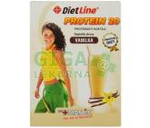 DietLine Protein 20 Koktejl Vanilka 3 sáčky
