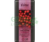 EG hořká čokoláda s brusinkami VIVANI 100g-BIO