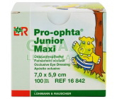 Okluzor nápl.Pro-ophta Junior Maxi 7.0x5.9cm/100ks