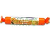 Intact hroznový cukr s vit.C pomeranč 40g (rolička