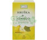 Obrázek Ovocno-bylinný čaj Hruška +Ginkgo 20x2g Fytopharma