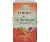 Obrázek Ovocno-bylinný čaj Jahoda +Echin. 20x2g Fytopharma
